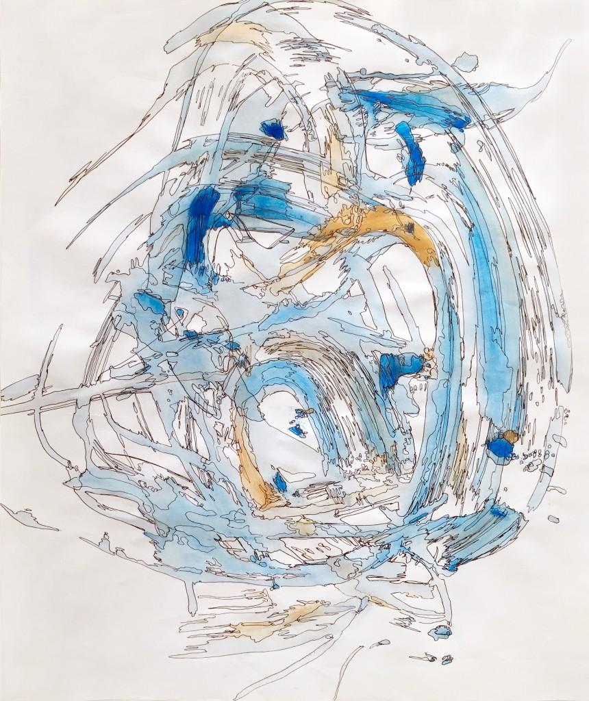 Blue rendering of Inner Light
